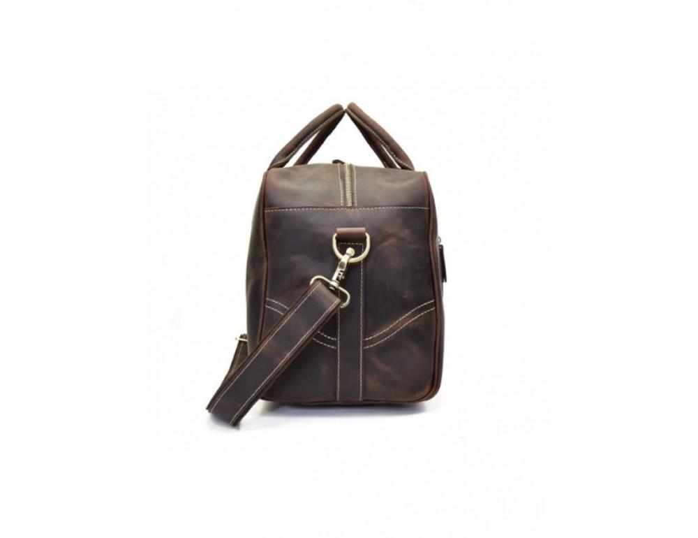 Шкіряна дорожня сумка Tiding Bag B26-7190R - Фотографія № 7