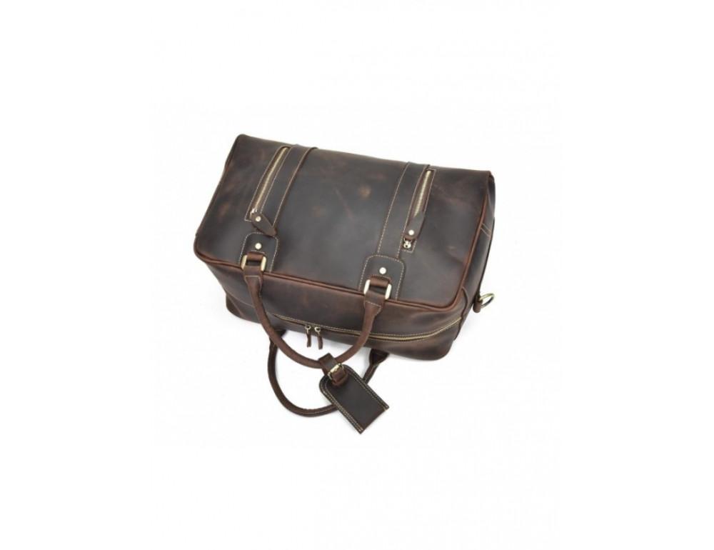 Шкіряна дорожня сумка Tiding Bag B26-7190R - Фотографія № 8