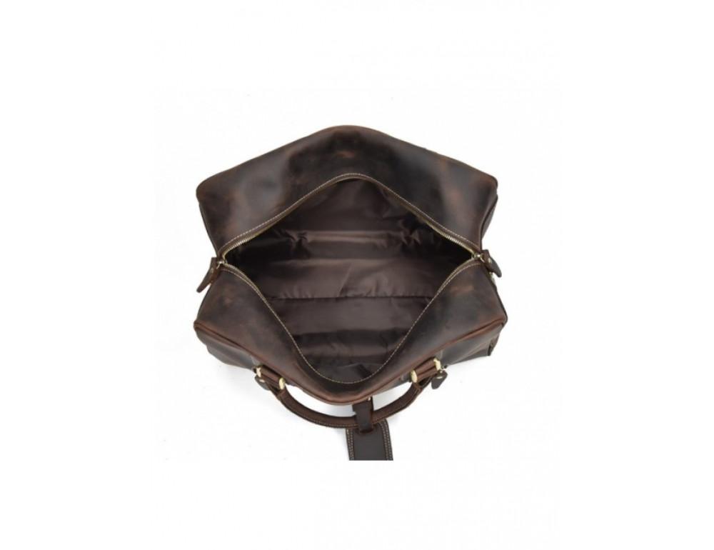 Шкіряна дорожня сумка Tiding Bag B26-7190R - Фотографія № 9