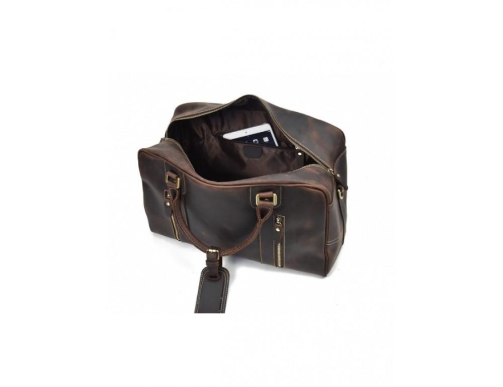 Шкіряна дорожня сумка Tiding Bag B26-7190R - Фотографія № 10