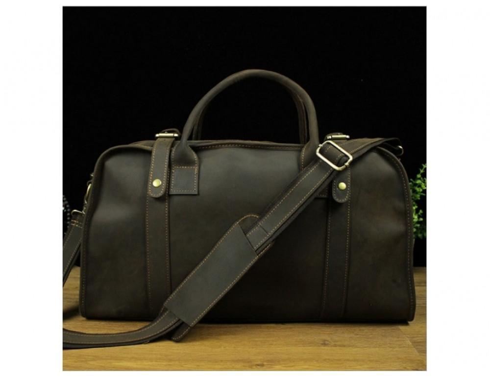 Дорожная сумка BEXHILL BX1036 коричневая - Фото № 2
