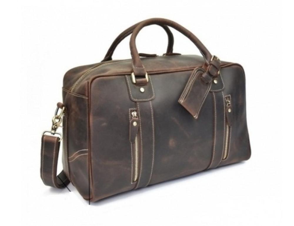 Шкіряна дорожня сумка Tiding Bag B26-7190R