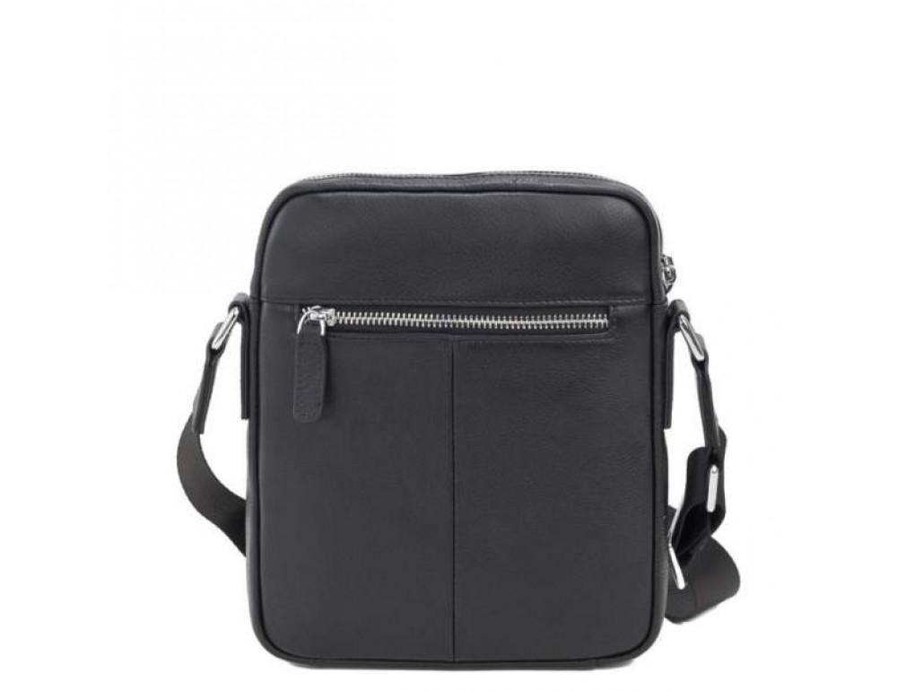 Кожаный мессенджер TIDING BAG M900-1A чёрная - Фото № 4