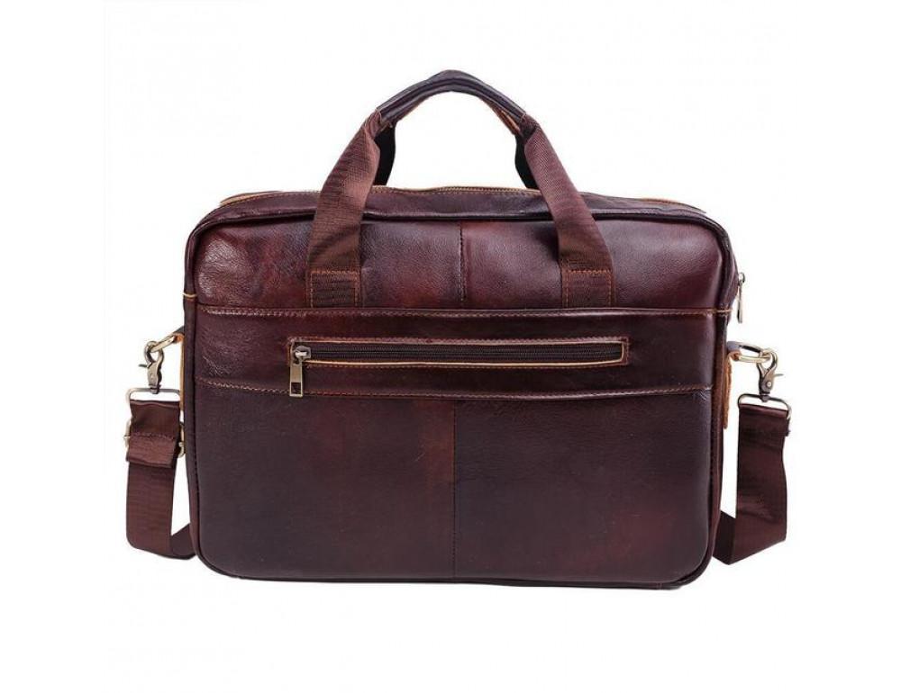 Мужская кожаная сумка macbook Bexhill BX1125C - Фото № 3