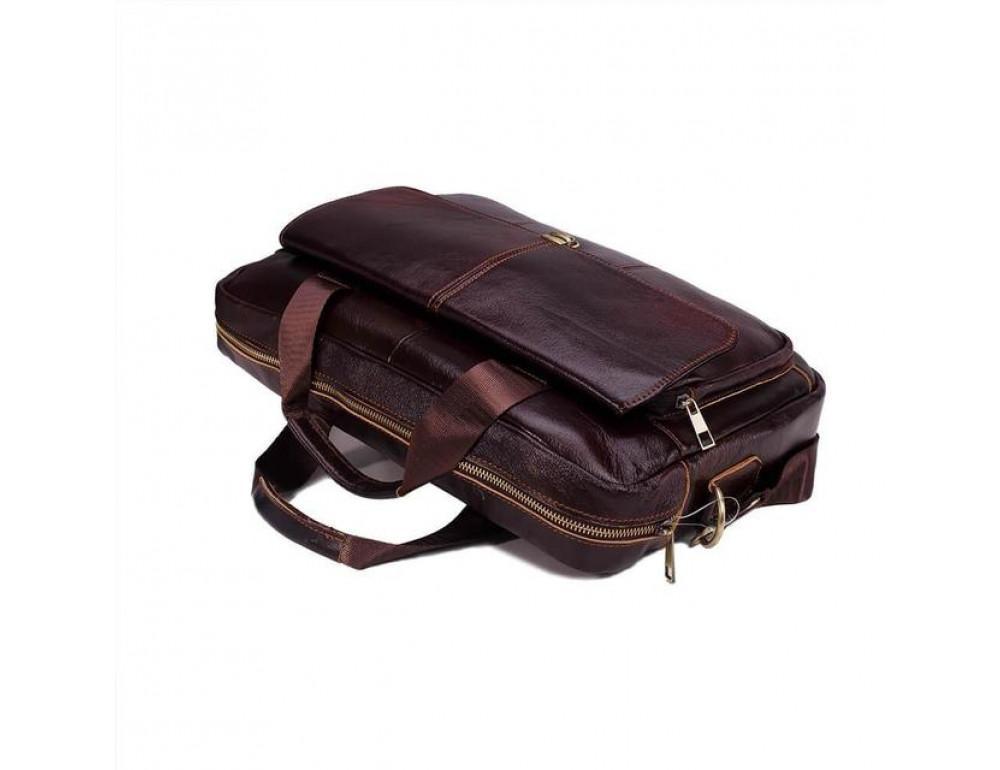 Мужская кожаная сумка macbook Bexhill BX1125C - Фото № 4