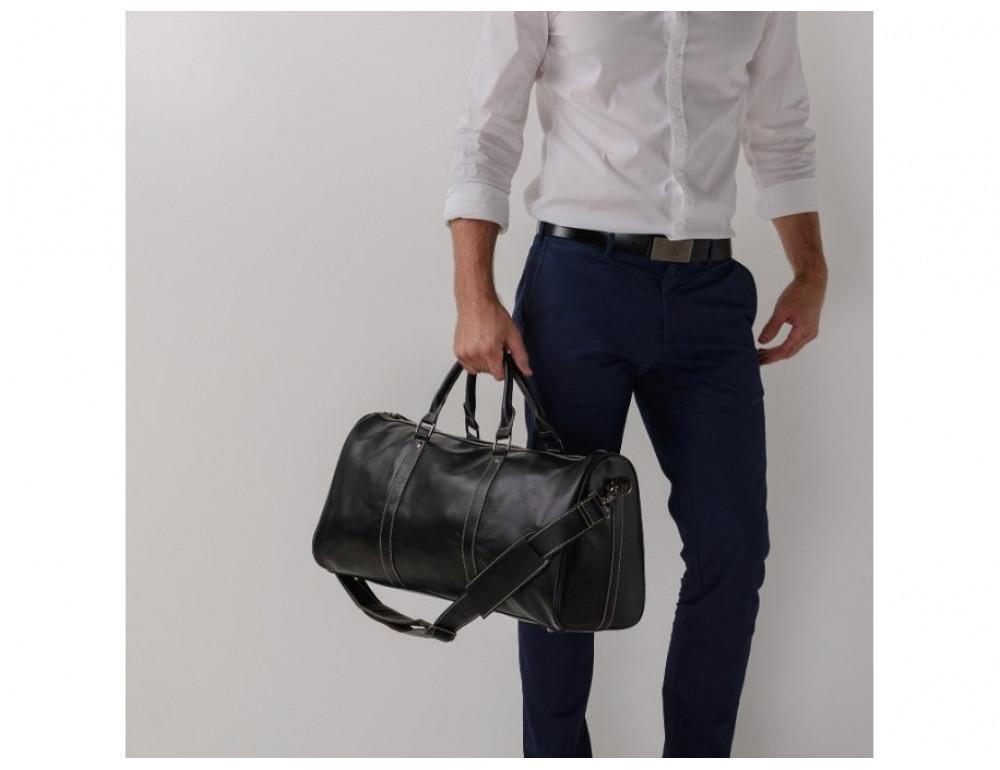 Дорожная сумка TIDING BAG Nm15-0739A чёрная - Фото № 2
