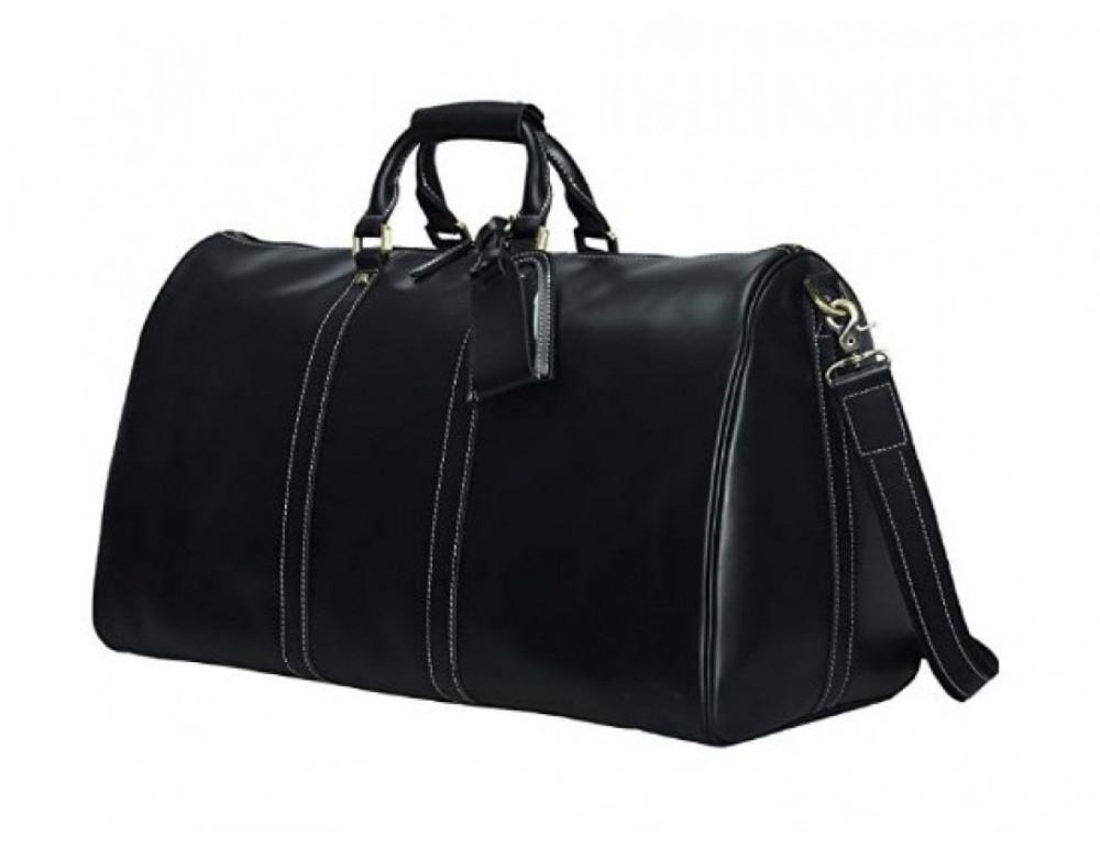 Дорожная сумка TIDING BAG Nm15-0739A чёрная - Фото № 3