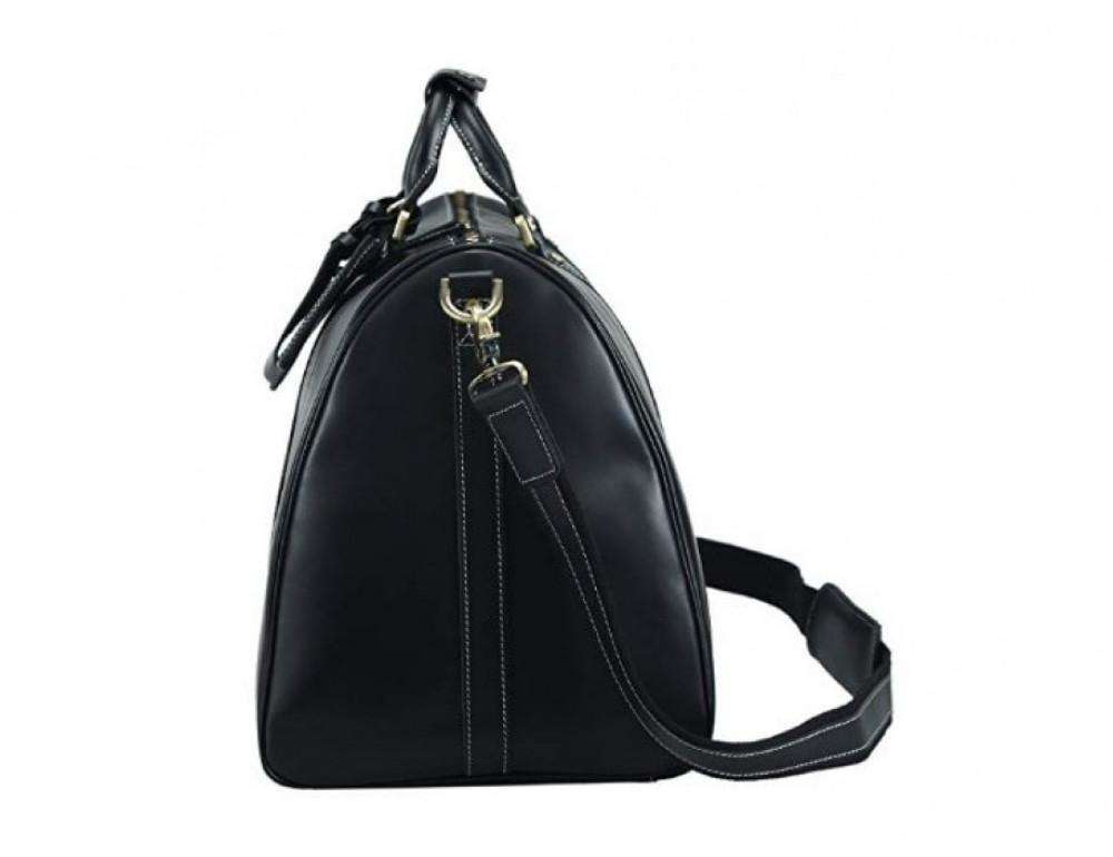Дорожная сумка TIDING BAG Nm15-0739A чёрная - Фото № 4
