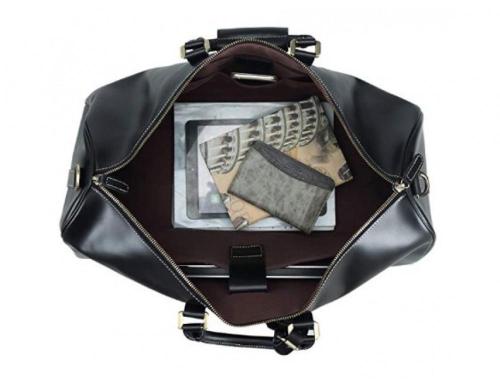 Дорожная сумка TIDING BAG Nm15-0739AR Серо-черный - Фото № 6