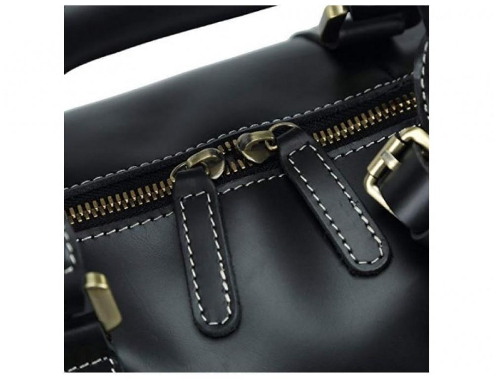 Дорожная сумка TIDING BAG Nm15-0739AR Серо-черный - Фото № 7