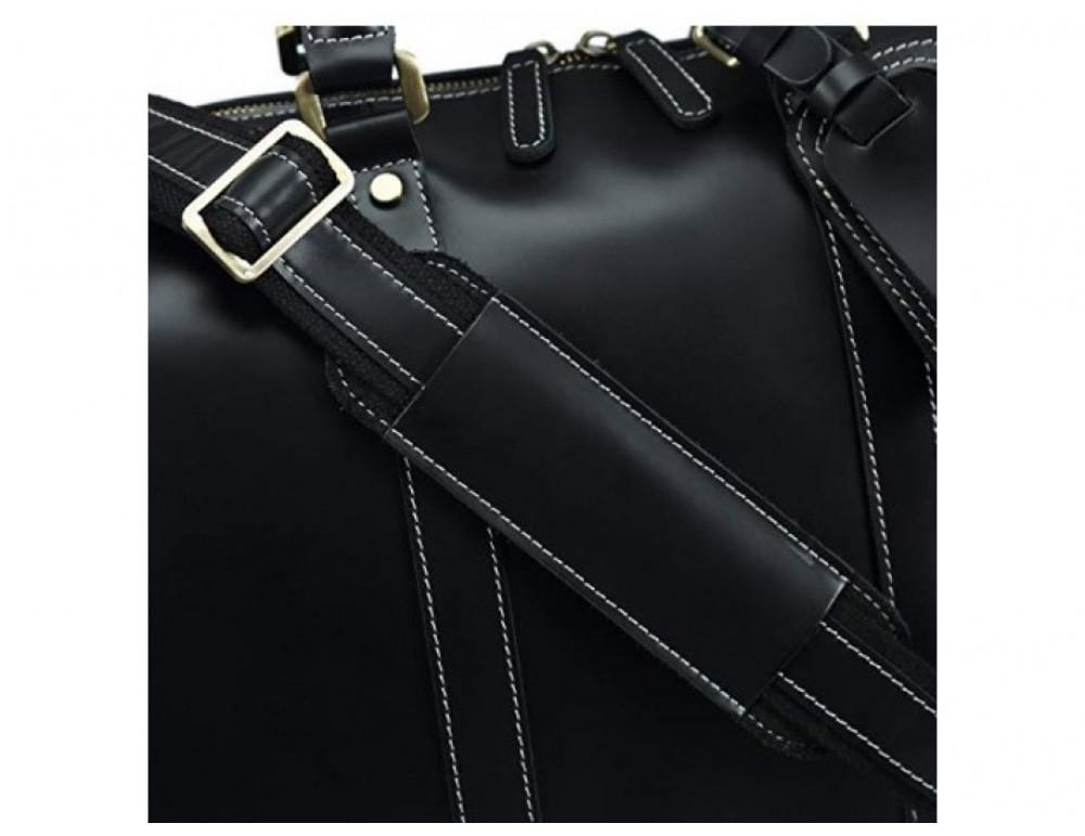 Дорожная сумка TIDING BAG Nm15-0739AR Серо-черный - Фото № 8