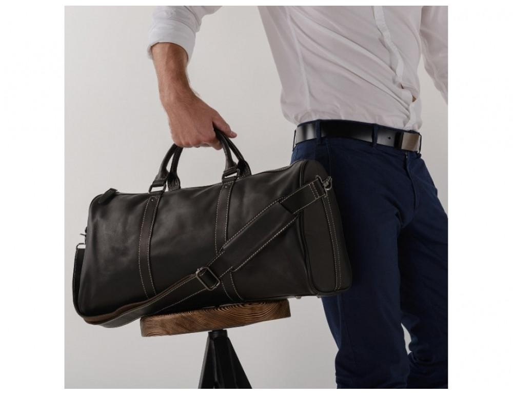 Дорожная сумка TIDING BAG Nm15-0739AR Серо-черный - Фото № 2