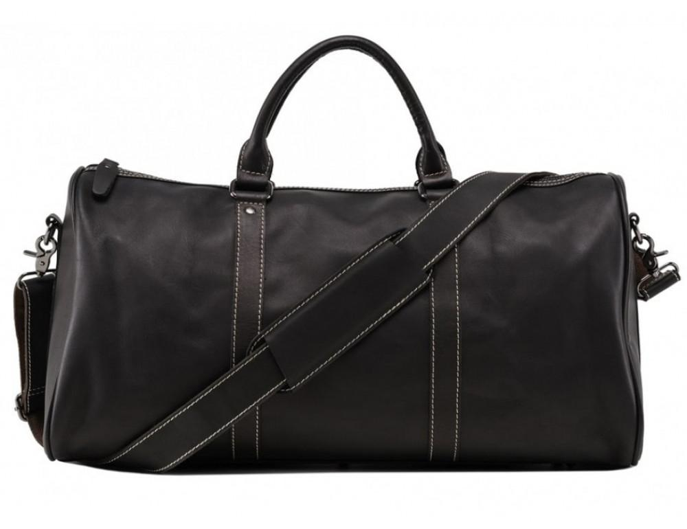 Дорожная сумка TIDING BAG Nm15-0739AR Серо-черный - Фото № 4