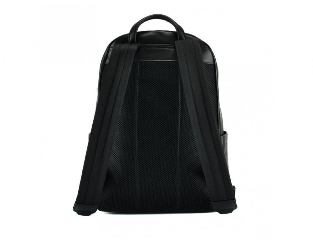 Мужской кожаный рюкзак Tiding Bag B3-8601A чёрный - Фото № 2