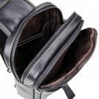 Кожаный рюкзак Tiding Bag 4002A черный - Фото № 106