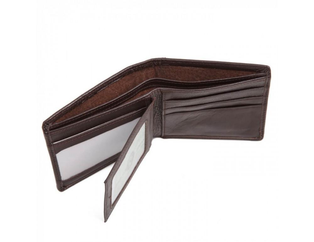 Портмоне Tiding Bag A25-821C коричневый - Фото № 2