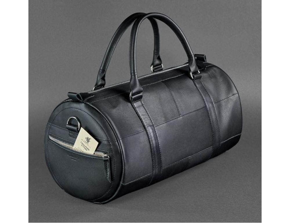 Кожаная дорожная сумка Blanknote BN-BAG-14-g - Фото № 3