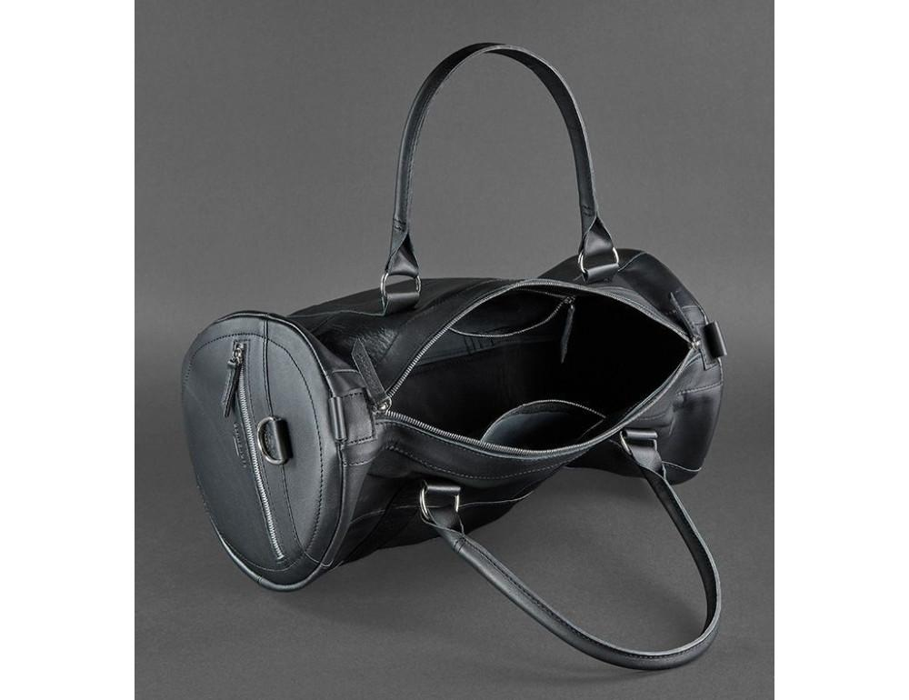 Кожаная дорожная сумка Blanknote BN-BAG-14-g - Фото № 4