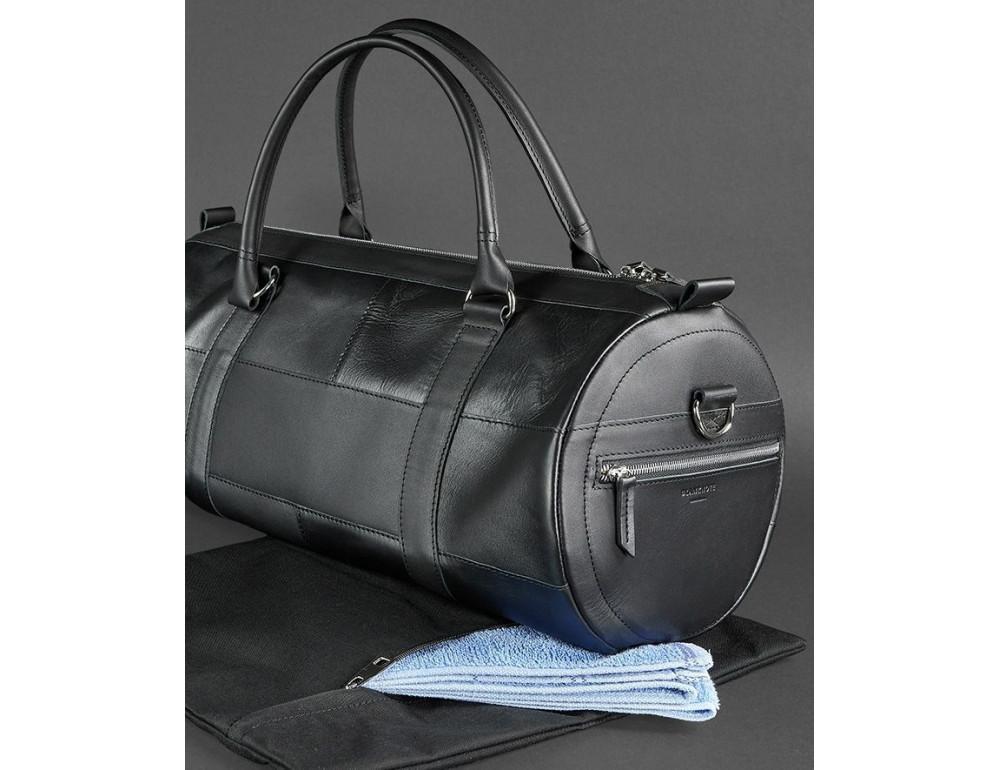 Кожаная дорожная сумка Blanknote BN-BAG-14-g - Фото № 5