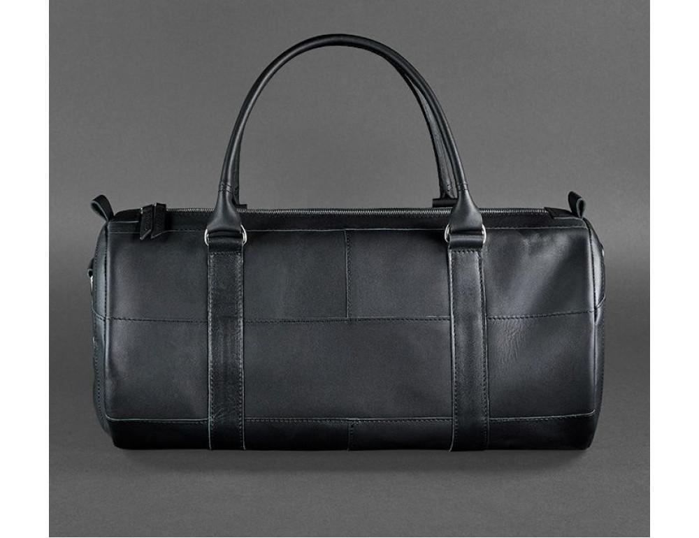 Кожаная дорожная сумка Blanknote BN-BAG-14-g - Фото № 6