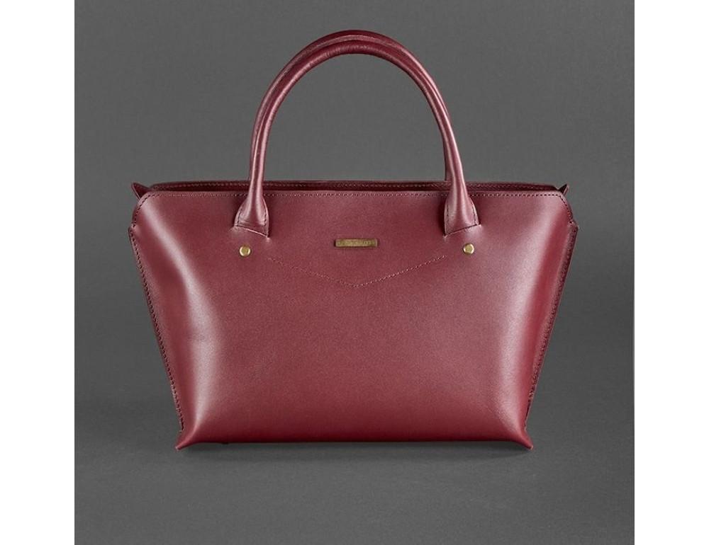 Кожаная женская сумка Blanknote BN-BAG-24-vin виноград - Фото № 1