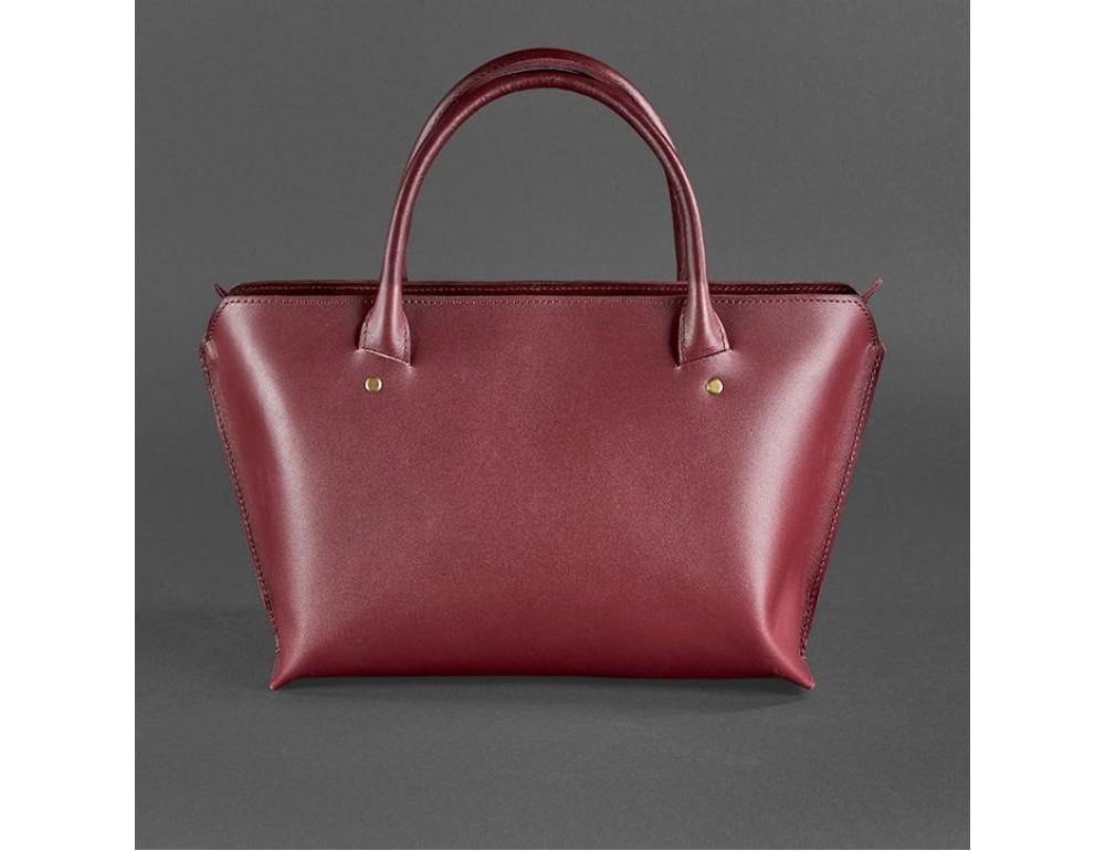 Кожаная женская сумка Blanknote BN-BAG-24-vin виноград - Фото № 4