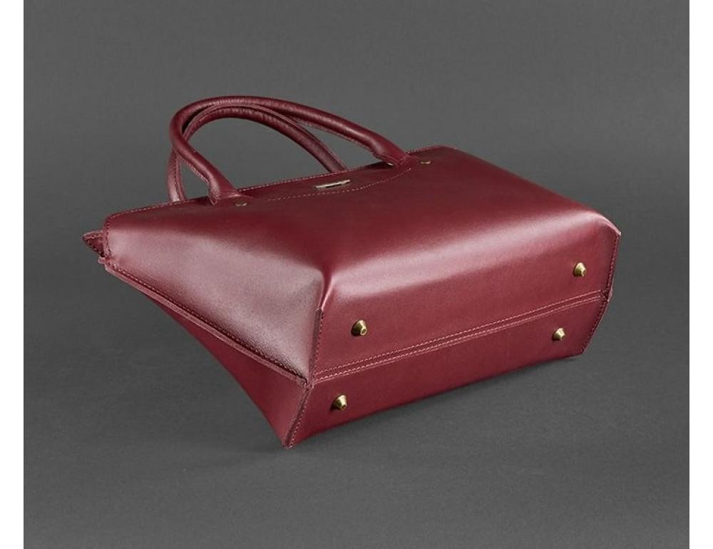 Кожаная женская сумка Blanknote BN-BAG-24-vin виноград - Фото № 5