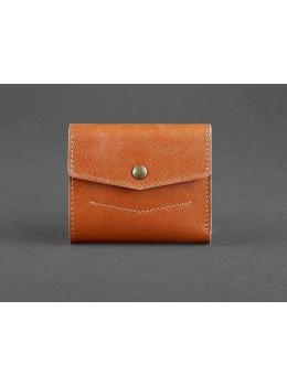 Маленький женский кошелек Blanknote BN-W-2-1-k коньяк