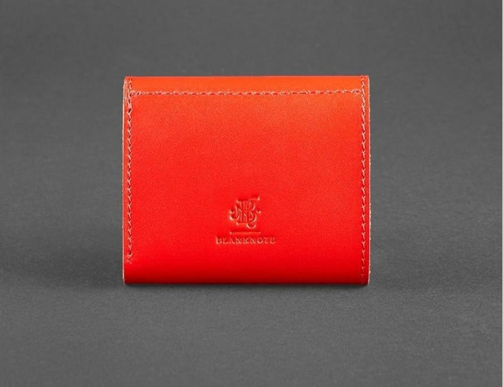 Маленький женский кошелек Blanknote BN-W-2-1-klubnika красный - Фото № 4