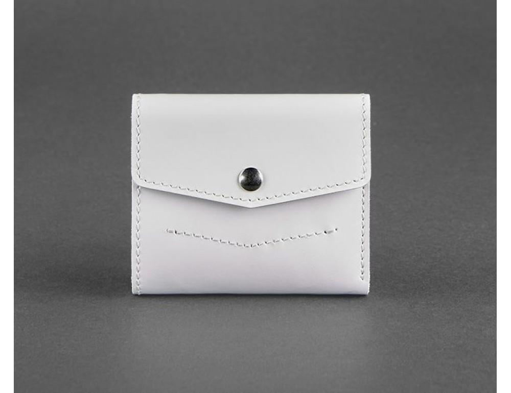Маленький женский кошелек Blanknote BN-W-2-1-white белый