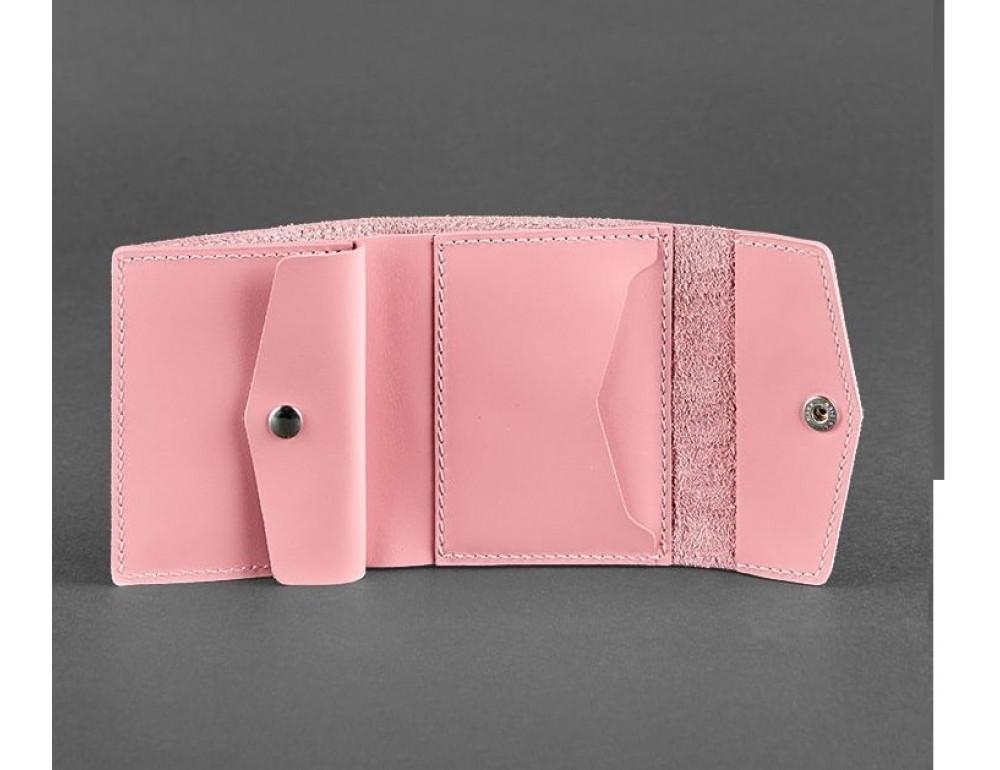 Маленький женский кошелек Blanknote BN-W-2-1-pink пудра - Фото № 3