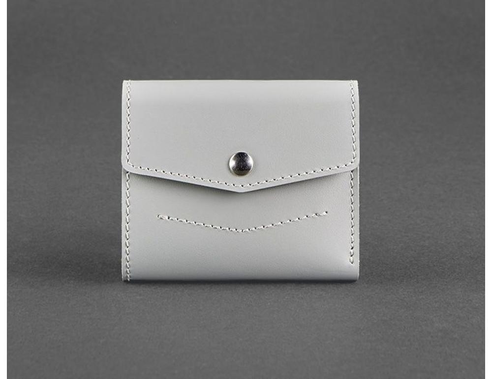Маленький женский кошелек Blanknote BN-W-2-1-shadow серый
