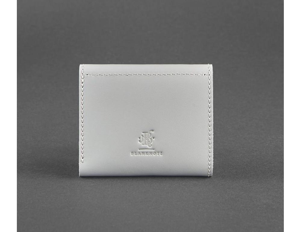 Маленький женский кошелек Blanknote BN-W-2-1-shadow серый - Фото № 4