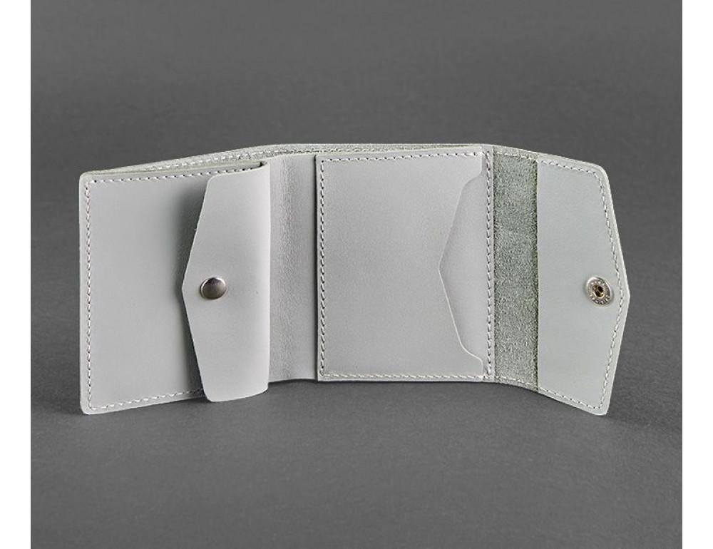Маленький женский кошелек Blanknote BN-W-2-1-shadow серый - Фото № 3