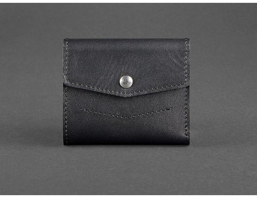 Маленький жіночий гаманець Blanknote BN-W-2.1-g чорний
