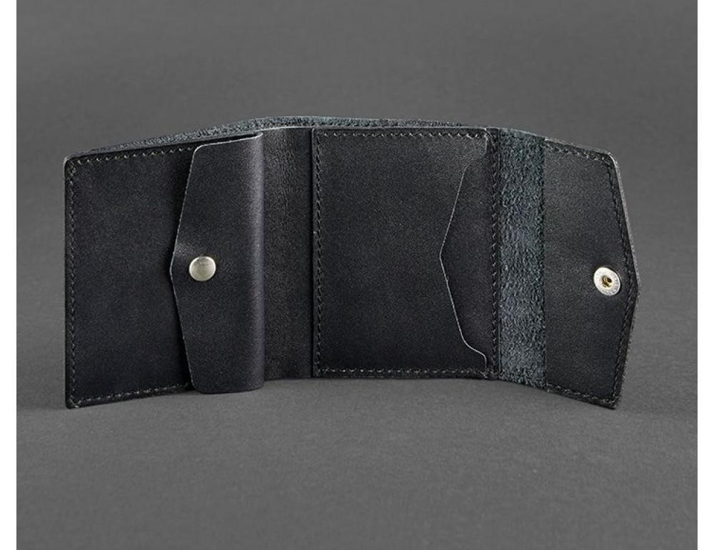 Маленький женский кошелек Blanknote BN-W-2.1-g черный - Фото № 3