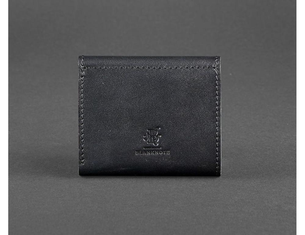Маленький женский кошелек Blanknote BN-W-2.1-g черный - Фото № 4