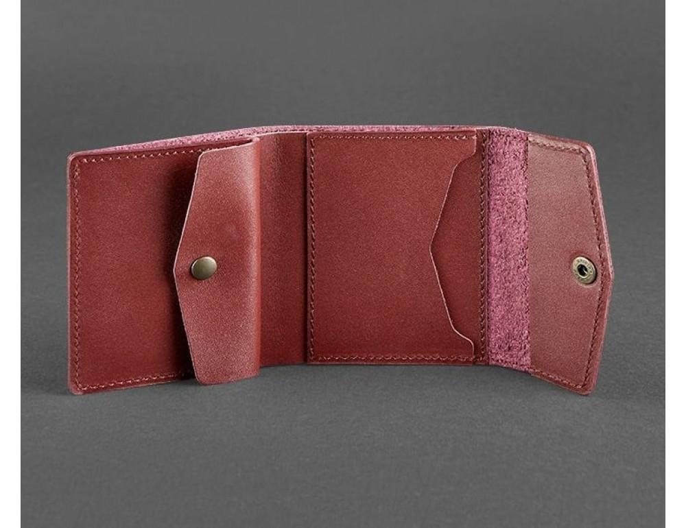 Маленький женский кошелек Blanknote BN-W-2.1-vin виноград - Фото № 3