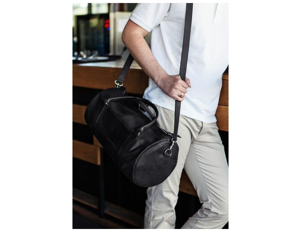Кожаная дорожная сумка Blanknote BN-BAG-14-g - Фото № 2
