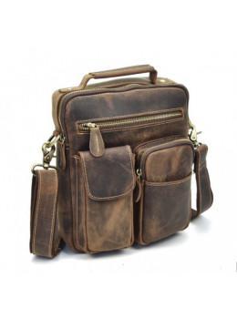 Кожаная барсетка TIDING BAG T1171