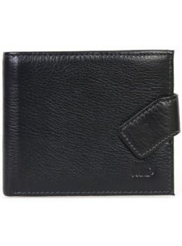 Мужской кожаный кошелёк MS Collection TR5M-388 черный