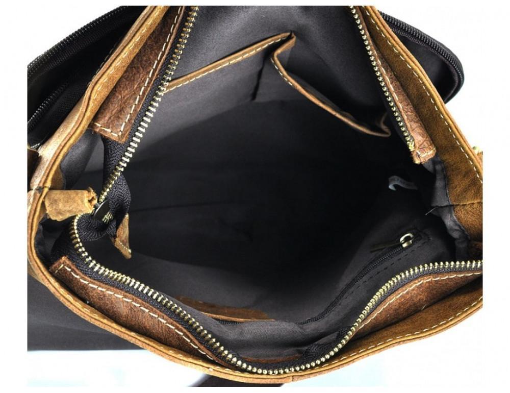 Винтажная сумка BEXHILL BX1292R коричневая - Фото № 2