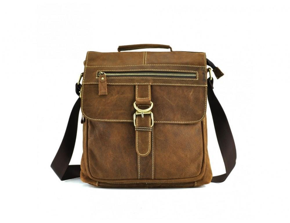 Винтажная сумка BEXHILL BX1292R коричневая - Фото № 4