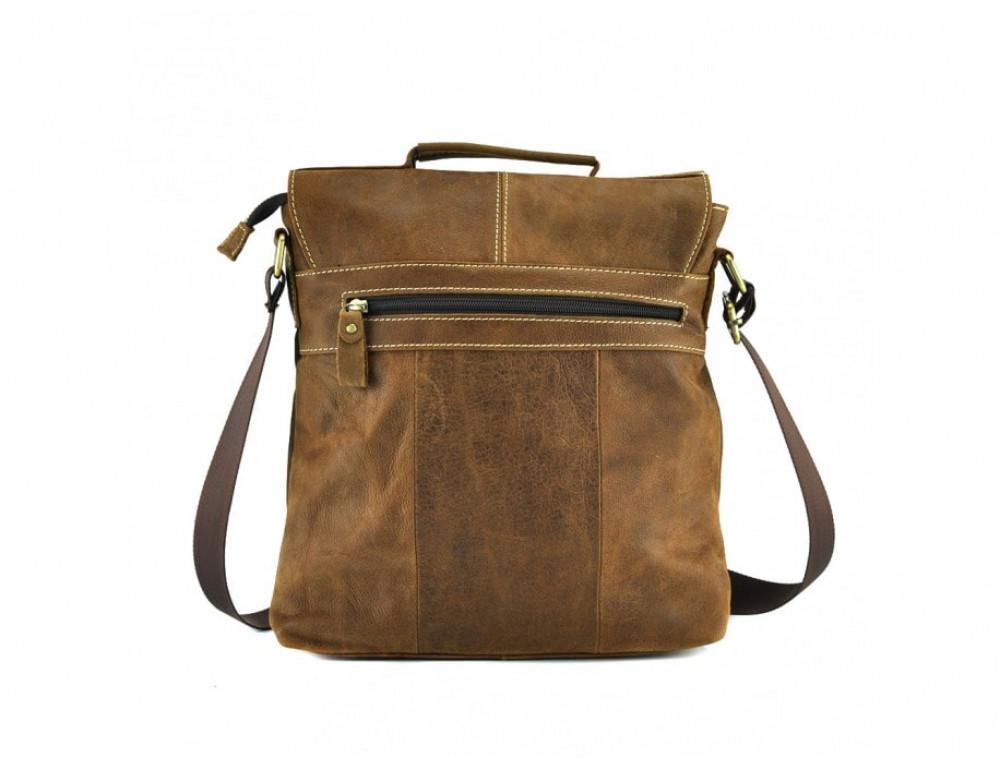 Винтажная сумка BEXHILL BX1292R коричневая - Фото № 5