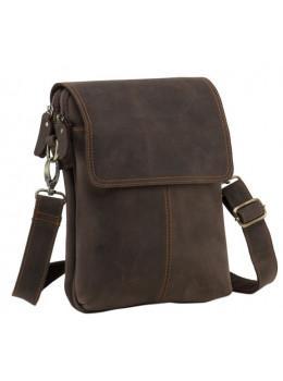 Сумка через плечо мужская TIDING BAG NM15-2542-1C коричневая