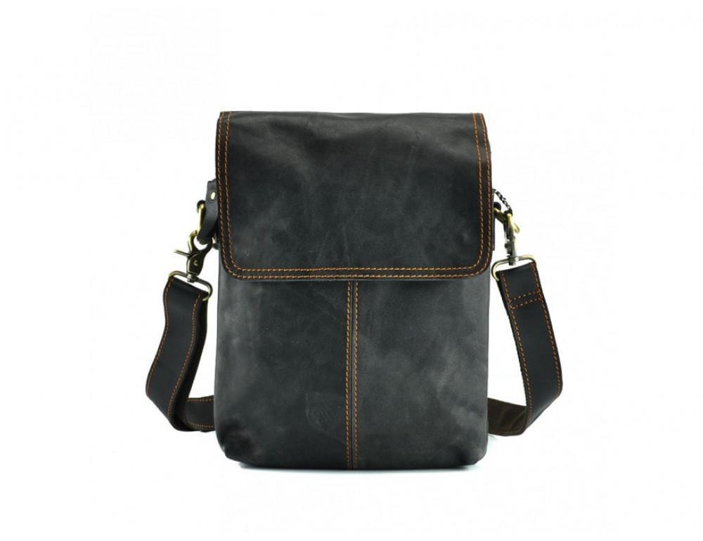 Сумка через плечо мужская TIDING BAG NM15-2542-1DB тёмно-серая - Фото № 3