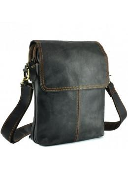 Сумка через плечо мужская TIDING BAG NM15-2542-1DB тёмно-серая