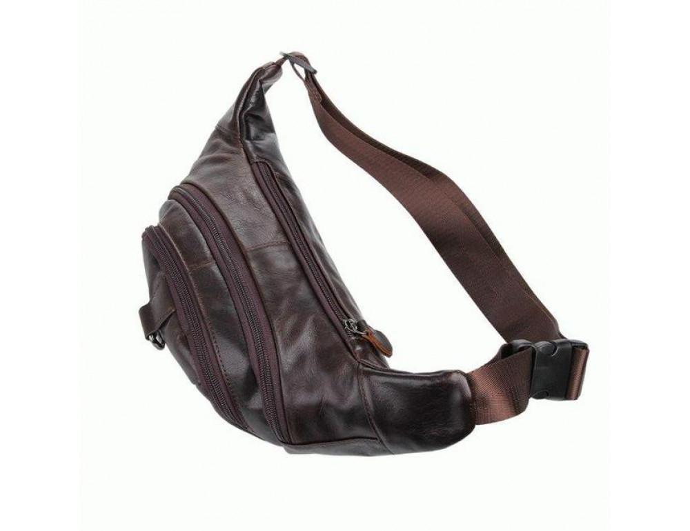 Шкіряна напоясний сумка TIDING BAG 7211C - Фотографія № 2