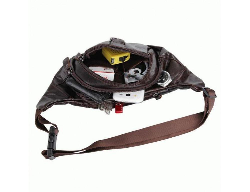 Шкіряна напоясний сумка TIDING BAG 7211C - Фотографія № 5