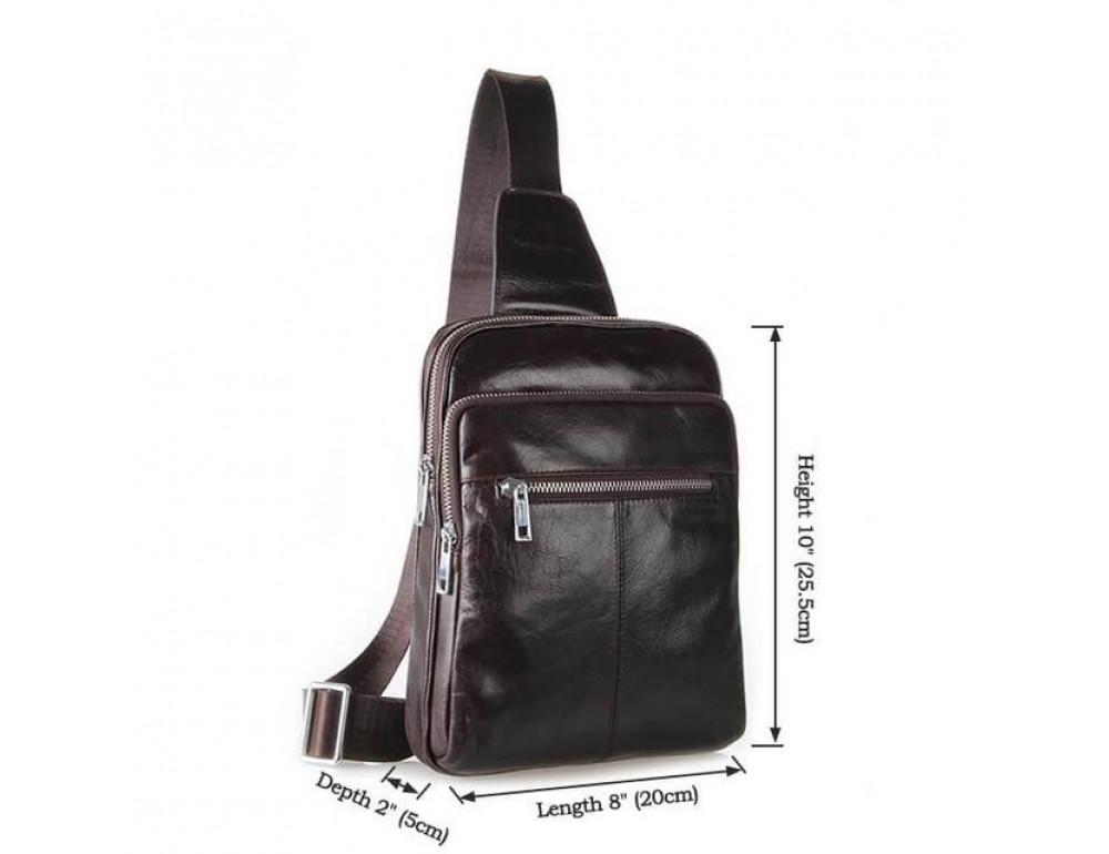 Сумка на плечо TIDING BAG 7217C-1 - Фото № 3